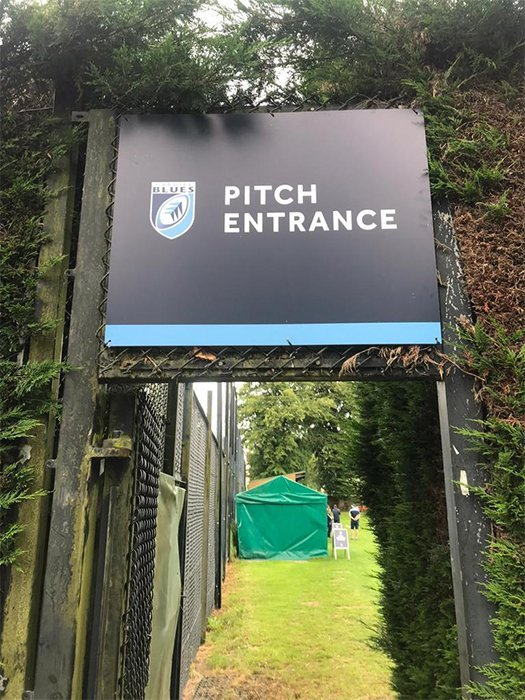 Rugby Signage